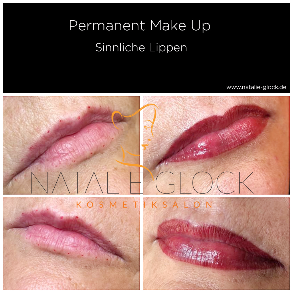 Permanent Make-Up Lippen