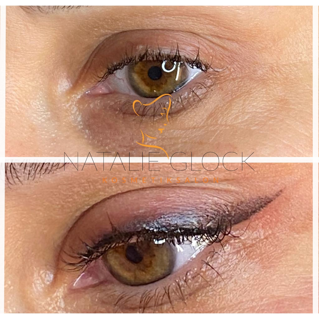 Permanent make-up Lidstrich