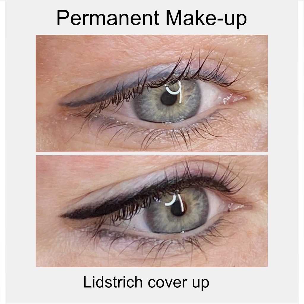 permanent make up lidstrich